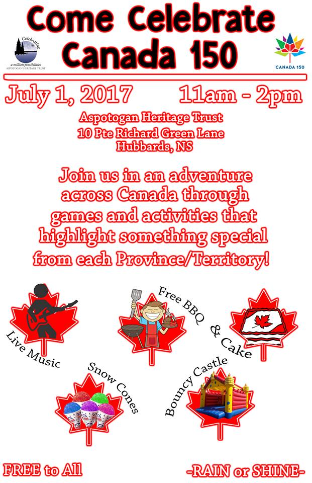 Canada day poster 2017